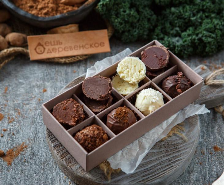"""Конфеты шоколадные трюфель """"Ассорти"""""""