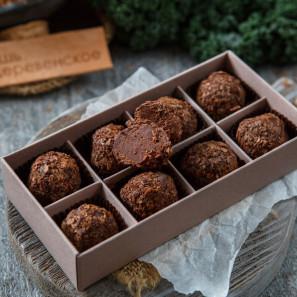 Конфеты шоколадные трюфель Соленая карамель