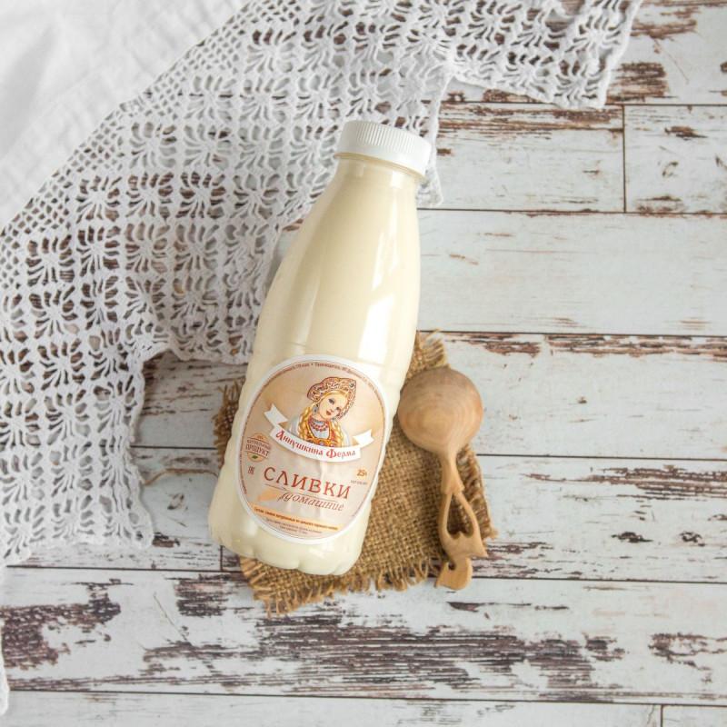 Сливки 25%Сливки сняты с цельного молока коров швицкой породы.<br><br>Вес мл.: 275