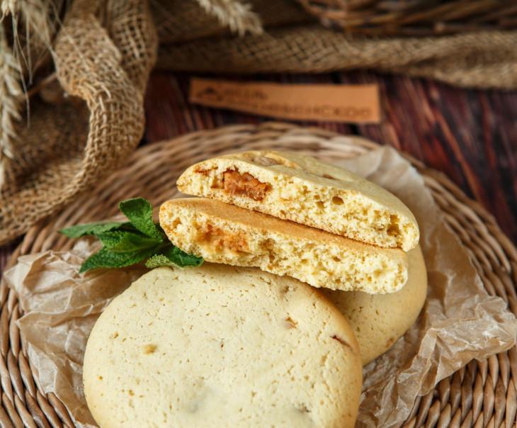 Печенье с соленой карамелью