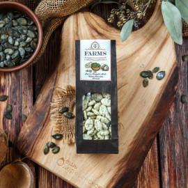 Штирийские тыквенные семечки в глазури белый шоколад со вкусом кокоса