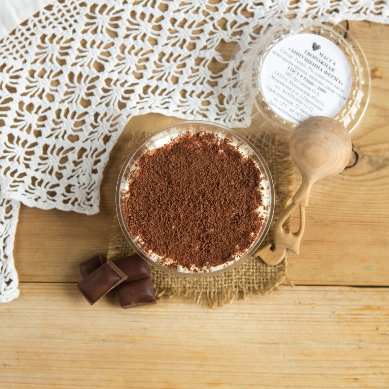 Масса творожная с шоколадной крошкой с Аннушкиной фермы<br><br>Вес г.: 200
