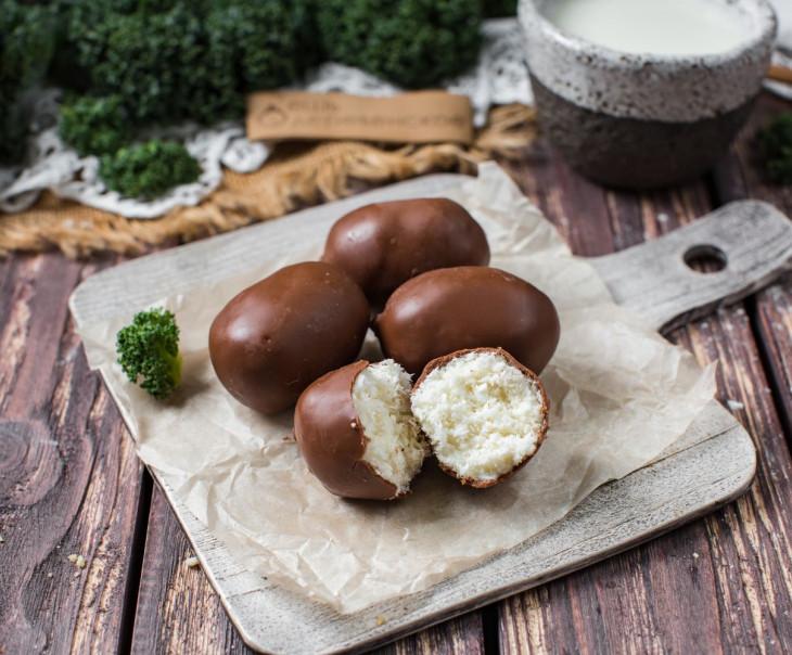 Настоящий кокосовый десерт