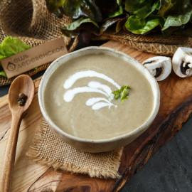 Суп грибной пюре