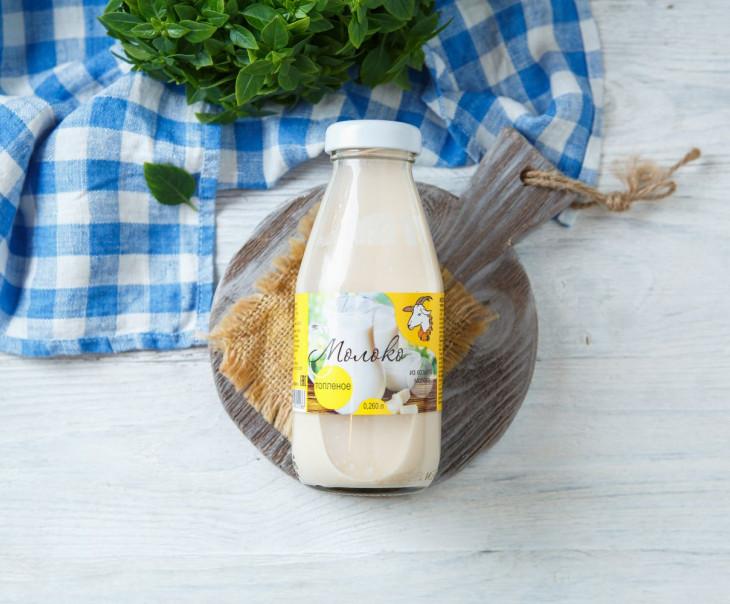 Молоко топленое козье 2,8 - 5,5%
