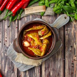 Перец острый в томатном соке