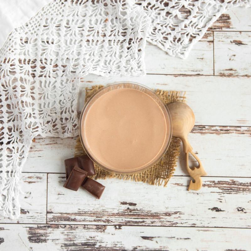 Десерт «Шок-Манже» с шоколадным ганашем с Аннушкиной фермы<br><br>Вес г.: 150