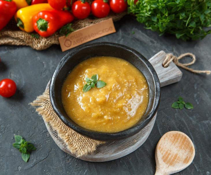 Томатильо-Ревень Чили-соус
