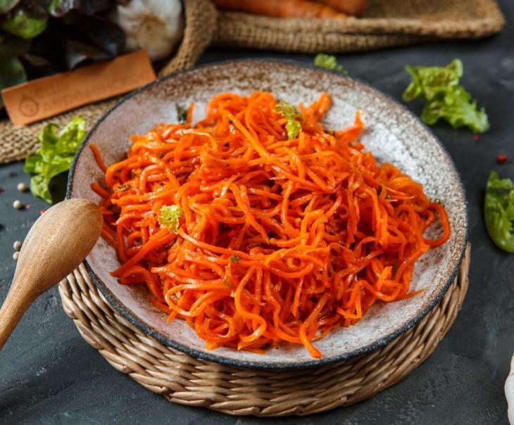 Морковь по-корейски острая