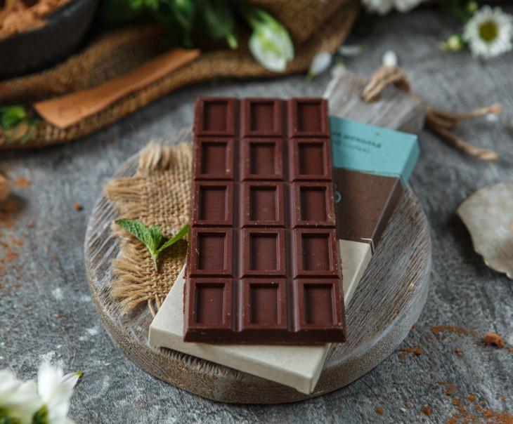 Шоколад с морской солью 70%