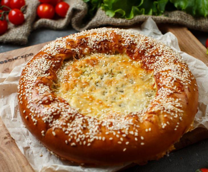 Пирог с картофелем и укропом