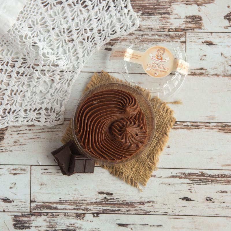 Масло сливочное шоколадное с Аннушкиной фермыАроматное  и очень нежное шоколадное масло станет отличным дополнением к вашему завтраку или полднику для детей и взрослых.<br><br>Вес г.: 120