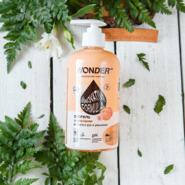 Гель для мытья рук и умывания (розовые персики)