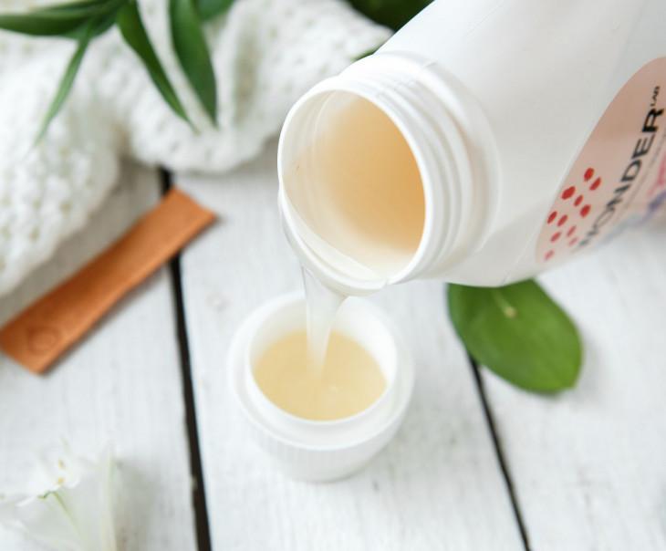 Экогель для стирки вещей малышей от 0 до 2-х лет (пудра и ваниль)