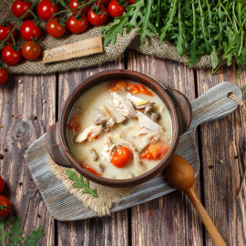 Суп Том Кха Гай
