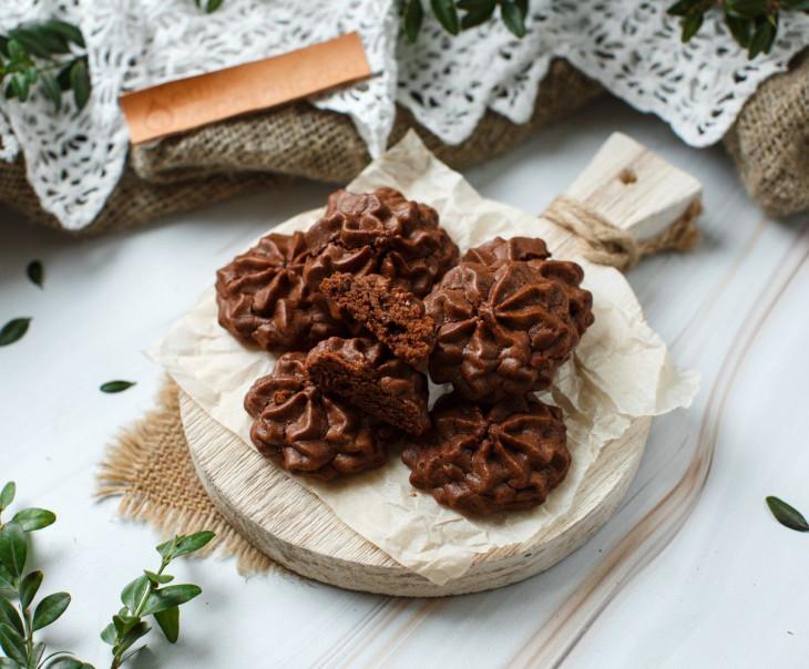 Печенье веганское шоколадное