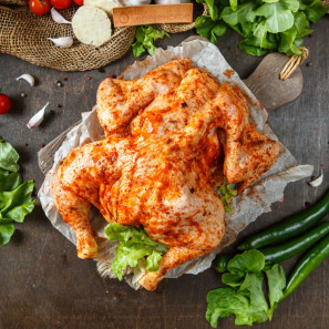 Цыпленок в маринаде Гриль