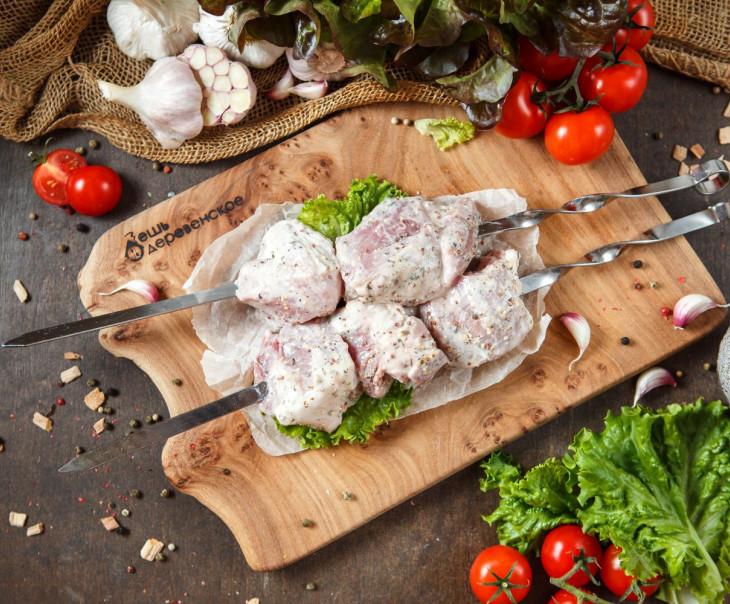 Шашлык свиной в кефирном маринаде с прованскими травами