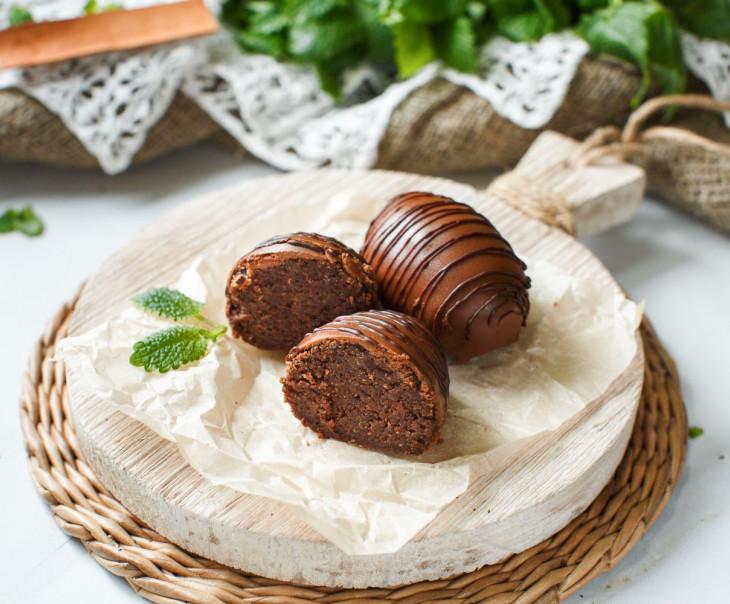 """Пирожное """"Картошка"""" в шоколаде"""