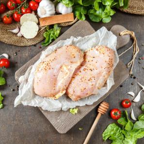 Филе грудки куриное в горчично-медовом маринаде