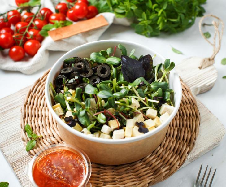 """Салат из микрозелени """"Санни"""""""