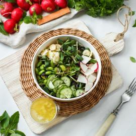 Салат из микрозелени Грини