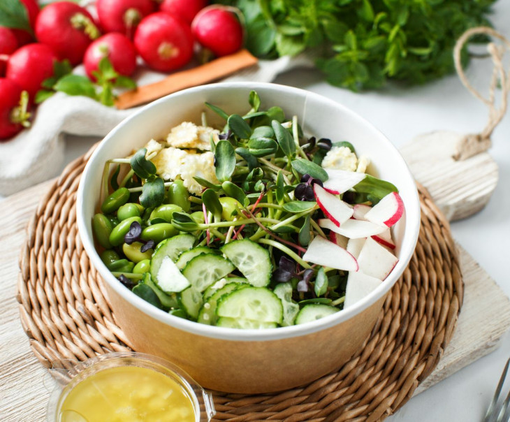 """Салат из микрозелени """"Грини"""""""