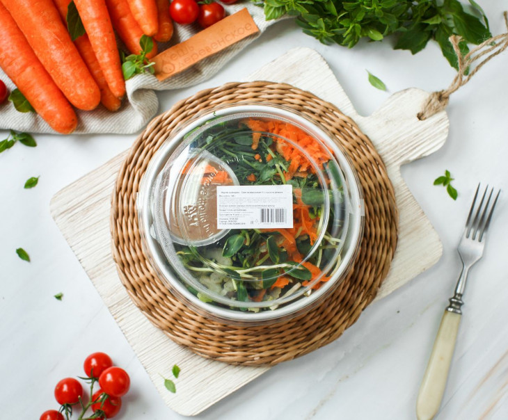 "Салат из микрозелени ""Локали"""