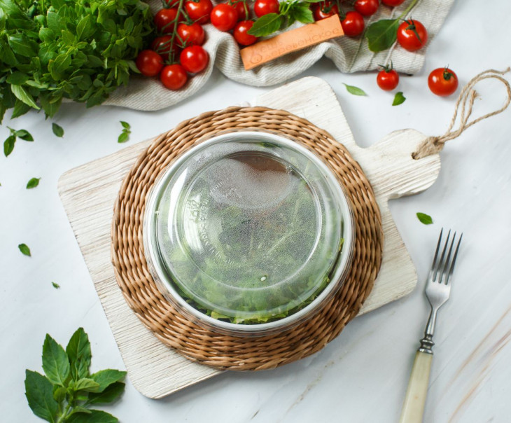 "Салат из микрозелени ""Кантри"""