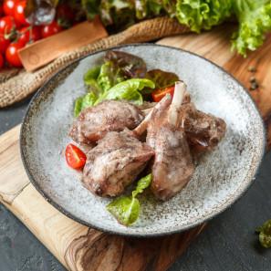 Су-вид из мяса кролика (голень)