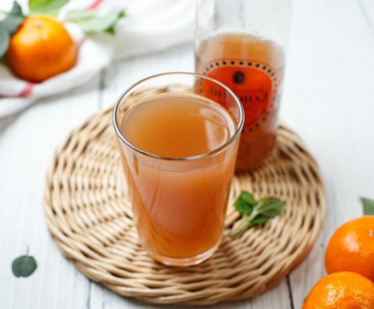 """Лимонад """"Апельсин с брусникой"""""""