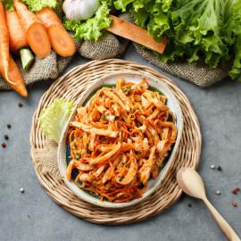 Салат из кальмаров по-корейски