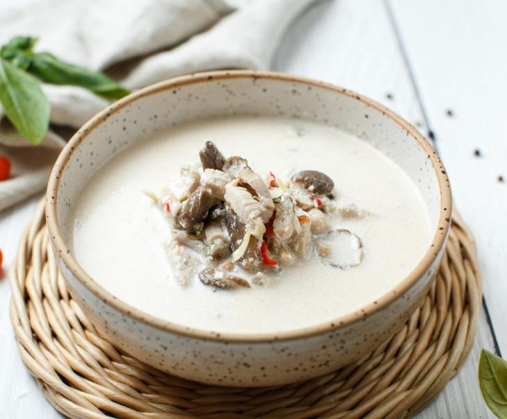 Суп Том Кха Гай большой