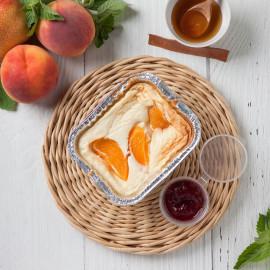 Запеканка с персиком