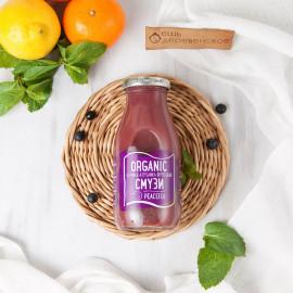 Смузи фруктовый Organic черника-клубника с семенами чиа