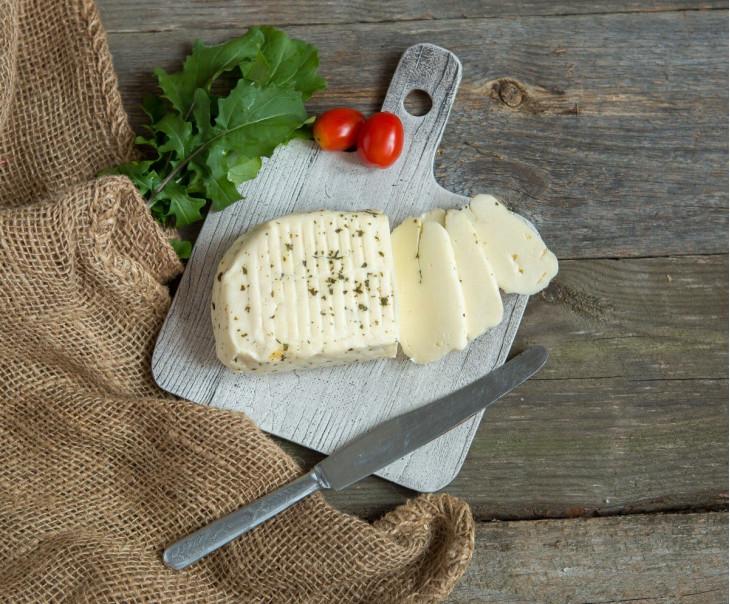 """Сыр """"Халуми"""" с мятой"""