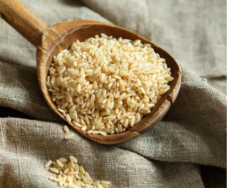 Рис бурый нешлифованный
