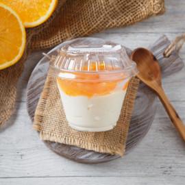 Йогурт апельсиновый 4%