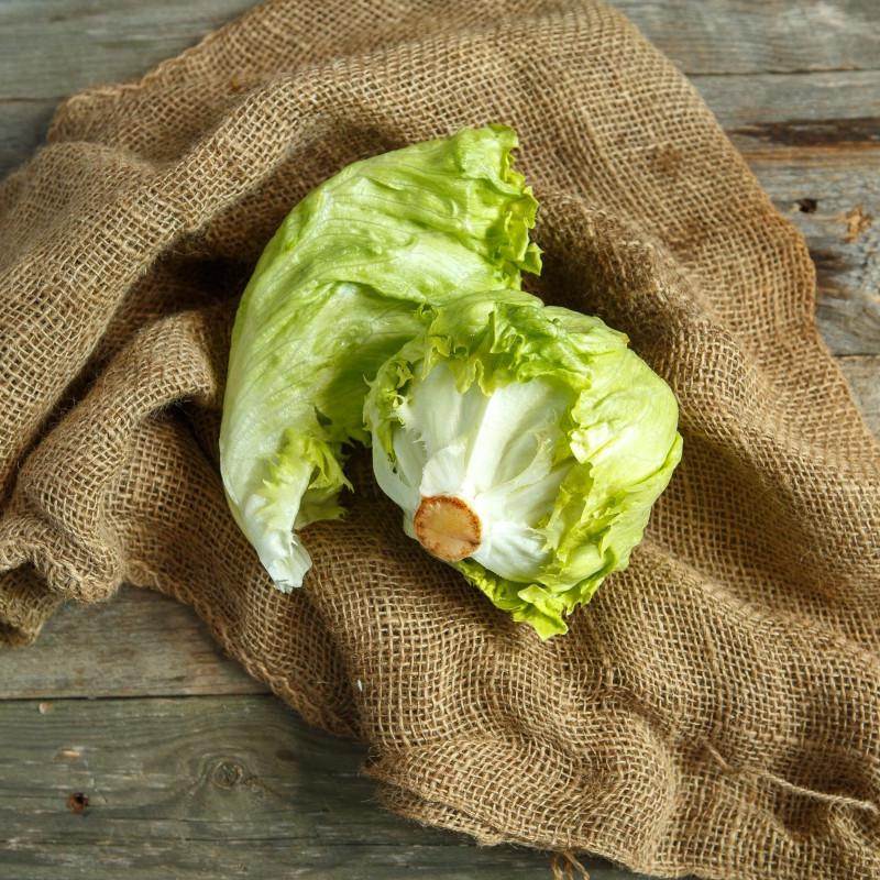 Салат АйсбергХрустящий, сочный листовой зеленый салат Айсберг. Отлично дополнит Ваши блюда пользой и яркостью. Салат выращивается в деревне Палагино Тверской области без применения химических и минеральных удобрений.<br><br>Вес г.: 600