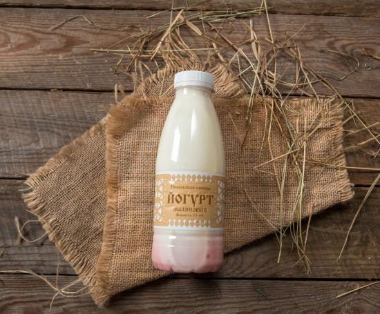 Йогурт 3,5-4% с малиной