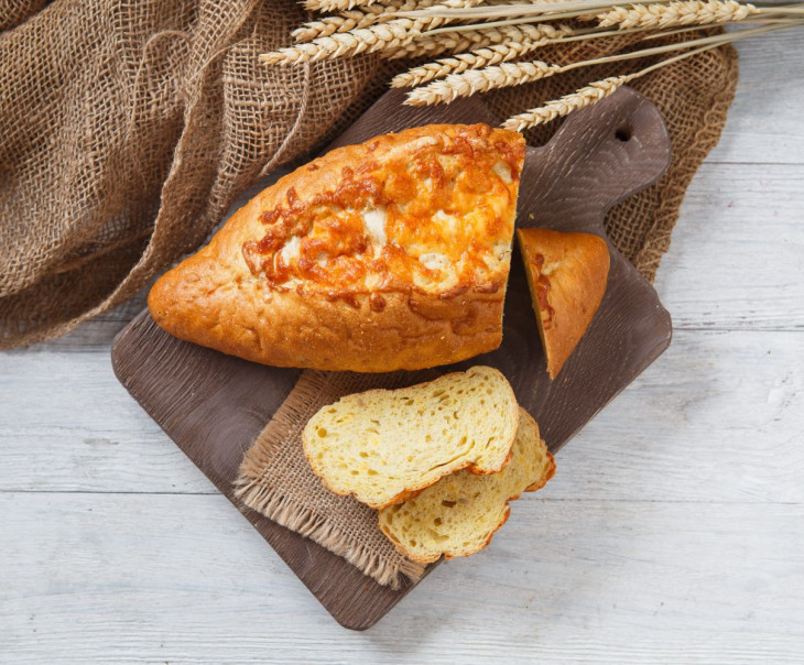 "Хлеб ""Кукурузный с сыром"""