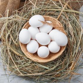 Яйца куриные белые
