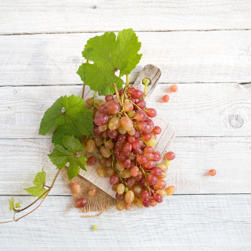 Виноград розовый лучстый без косточек<br><br>Вес г.: 500