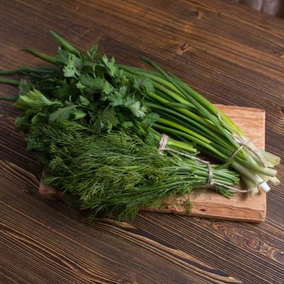 Зелень (лук/укроп/петрушка)