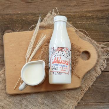 Молоко коровье 3,4 - 6 %
