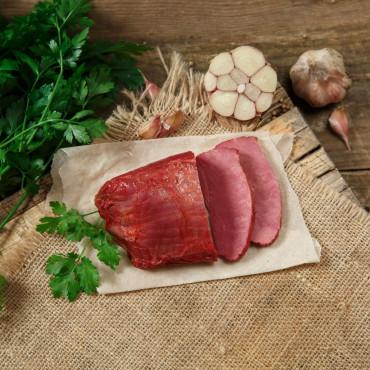 Ветчина варено-копченая из говядины