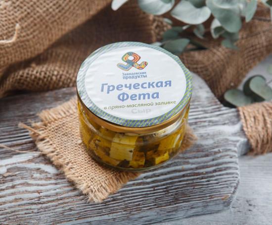 Сыр фета в оливковом масле