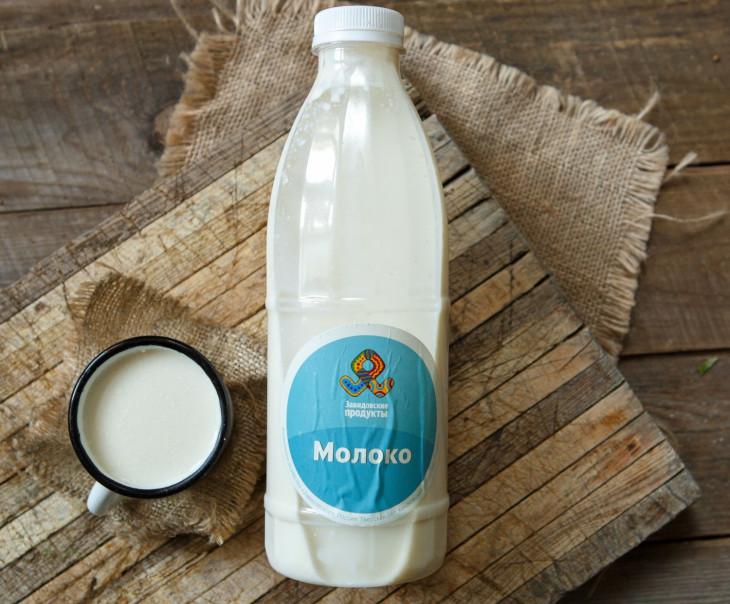 Молоко коровье 3,0 - 6,0%