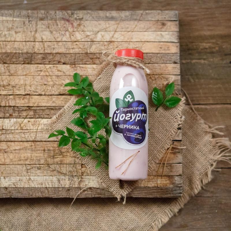 Йогурт 2,5% черничный<br><br>Вес мл.: 300