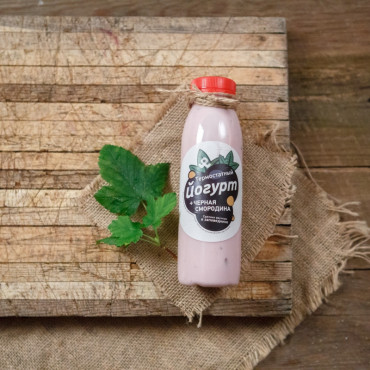 Йогурт черносмородиновый 2,5%